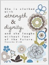 Card - She Is Clothed with Strength and Dignity