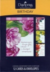 Beautiful Sentiments Birthday Cards - Boxed Set of 12 Cards