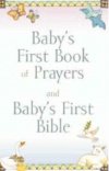Baby's First Book of Prayers and Baby's First Bible, Slipcased