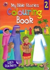 My Bible Stories Colouring Book 2, with Stickers