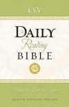 ESV - Daily Reading Bible (hardback)