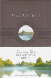 ESV - MacArthur Drawing Near Devotional Bible, Hardback