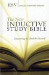ESV - New Inductive Study Bible, Hardback