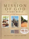 HCSB - The Mission of God Study Bible, Hardback