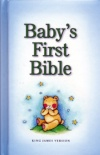 KJV - Baby's First Bible - Blue