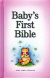 KJV - Baby's First Bible - Pink