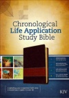 KJV - Chronological Life Application Study, Brown/Tan