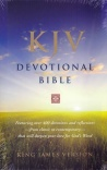 KJV Devotional Bible - Hardback
