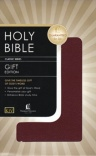 KJV  Gift & Award Bible, Burgundy leatherflex  GAB