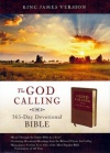 KJV - God Calling 365-Day Devotional Bible, Tan/Burgundy