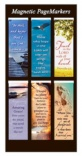 Magnetic Bookmark, Pack of 6