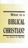 What is a Biblical Christian (Classic Booklet) - CBS