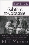 Straight to the Heart of Galatians to Colossians - STTH