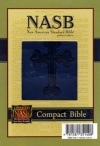 NASB Compact Blue, Leathertex with Cross Motif