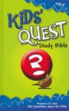 NIrV - Kids Quest Study Bible