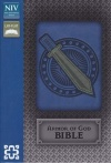 NIV Armor of God Bible, Bold Blue/Silver