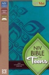 NIV - Thinline Bible for Teens, Caribbean Blue, Duo Tone