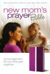 NIV New Mom's Prayer Bible Dark Orchid/ Deep Plum