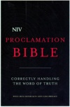 NIV - Proclamation Hardback Bible