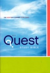 NIV - Quest Study Bible: Hardback Edition
