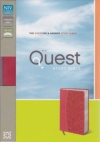 NIV - Quest Study Bible, Coral Duo Tone