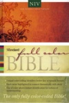 NIV - Standard Full Color Rainbow Bible,  Hardback Edition