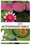 NIV - Waterproof Bible, Lilypad, Paper, Pink/Green
