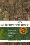 NIV Waterproof Bible, Sportman's Edition Camouflage