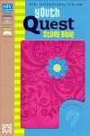 NIV Youth Quest Study Bible:  Raspberry/Ocean Blue Duo-Tone
