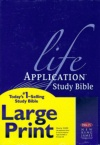 NKJV - Life Application Study, Large Print Hardback