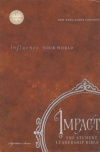 NKJV - Impact: The Student Leadership Bible, Hardback