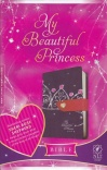 NLT - My Beautiful Princess Bible, Purple Crown/Pink