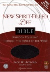 NLT - New Spirit Filled Life Bible, Black Bonded Leather
