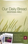 NLT Our Daily Bread Devotional Bible (Hardback)