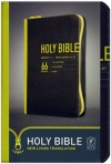 NLT - Zips Bible Canvas Yellow