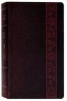 ESV Study Bible, TruTone, Mahogany Trellis Design Imitation Leather