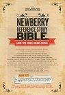 KJV Newberry Reference Bible Single Column Edition, Large Type