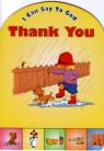 I can say to God - Thank You - Board Book