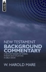 New Testament Background Commentary - Mentor Series