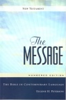 Message New Testament Numbered Edition - Paperback