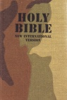 NIV Compact Bible - Camouflage Woodland Cover (1984 edit)