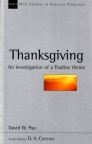 Thanksgiving: Pauline Theme - NSBT