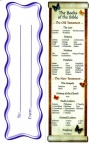 Books of the Bible - Bookmarks
