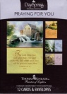 Cards - Praying for You - Thomas Kinkade (Box of 12 Cards)