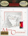 Christmas Cards - Season's Greetings Snowy Scenes - Pack of 10 - CMS