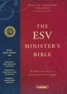 ESV Minister's Bible - Genuine Black Leather