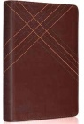 ESV Personal Size Reference Bible, Brown Crossweave Design