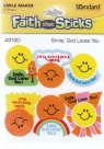 Faith that Sticks - Smile God Loves You - Stickers