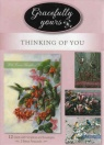 Thinking of You Cards - Grace Notes - Box of 12 Cards
