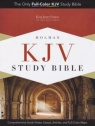 KJV - Full Color Study Bible, Mantova Brown